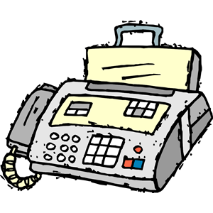 Fax Machine Clipart Image. | Clipart Panda - Free Clipart ...