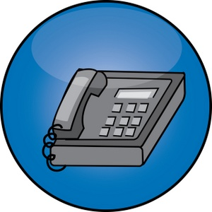 Office Phone Clipart | Clipart Panda - Free Clipart Images