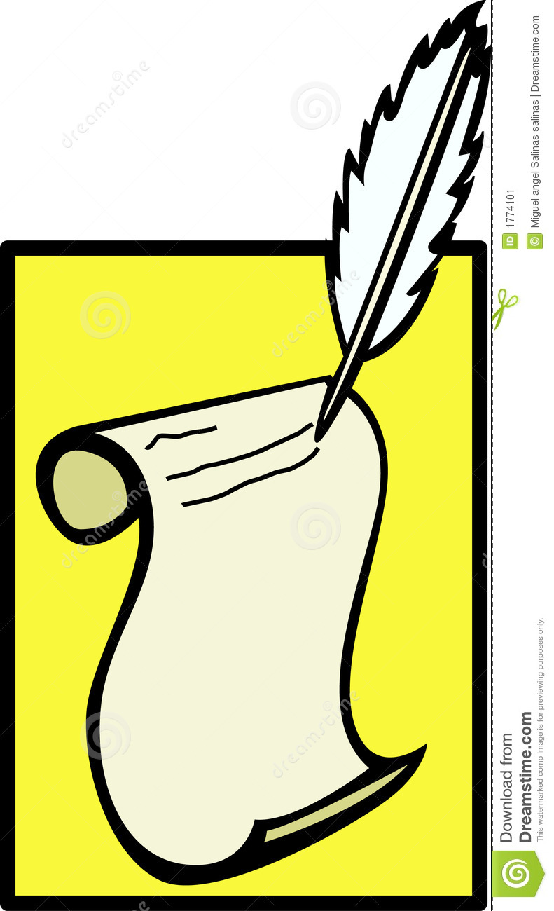 paper and pen clipart | clipart panda - free clipart images