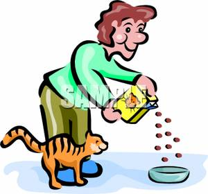feed-clipart-A_man_bending_over_to_feed_his_cat_100528-231163-572009 ...