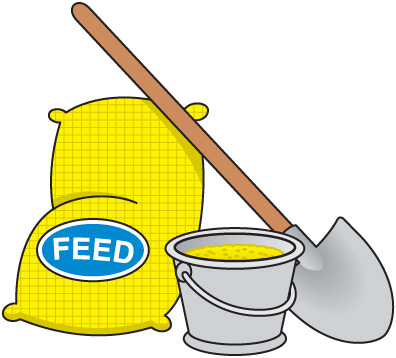 Chicken Feed Clipart | Clipart Panda - Free Clipart Images