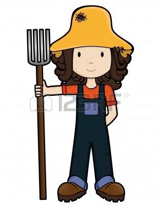 Female Farmer Clip Art | www.pixshark.com - Images ...
