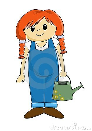 Girl Farmer Cartoon | www.pixshark.com - Images Galleries ...