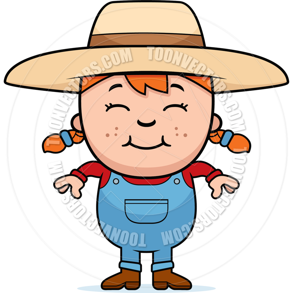 Cartoon Farmer Girl | www.pixshark.com - Images Galleries ...