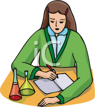Female Science Teacher Clipart Clip Art: Chemistry St...