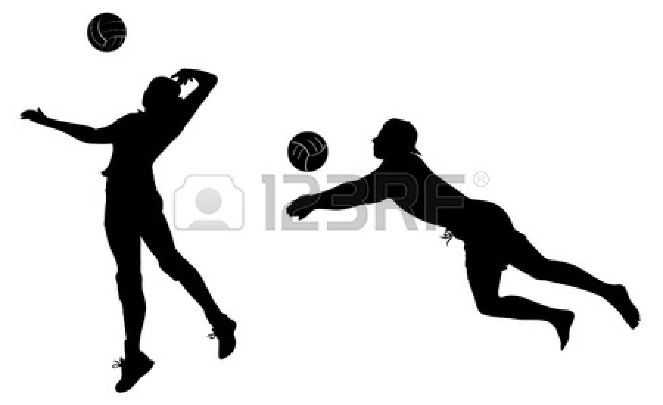 volleyball player silhouette clipart clipart panda free clipart rh clipartpanda com female volleyball player clipart