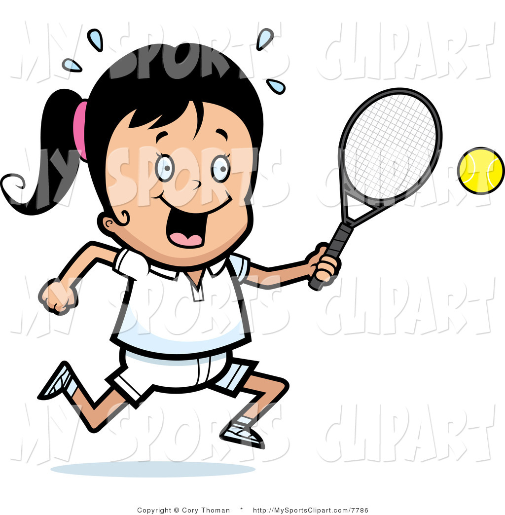 Sports Clip Art of a Girl with | Clipart Panda - Free ...