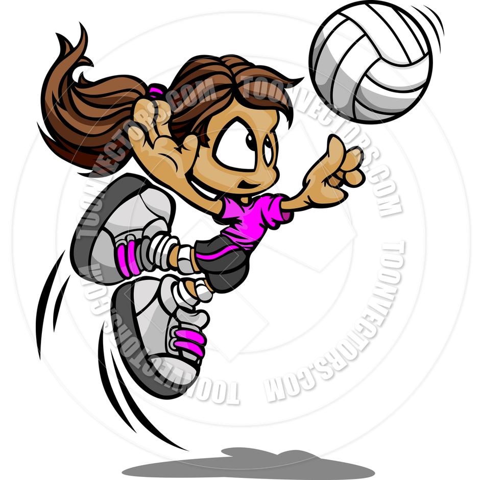 Pin Cartoon Volleyball Clip Art Clipart Graphics Vector ...