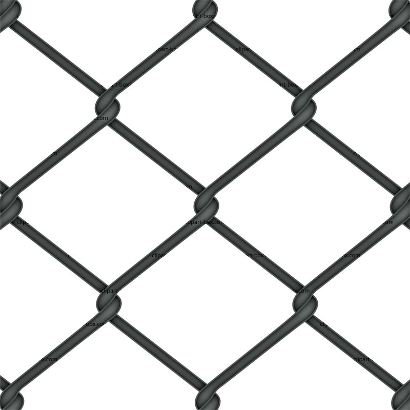 Mesh Fencing Clips Fence Clip Art