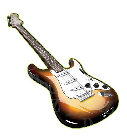 Stratocaster Clip Art at Clker.com - vector clip art online, royalty free &  public domain