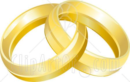 Free Clip Art Of Wedding Rings