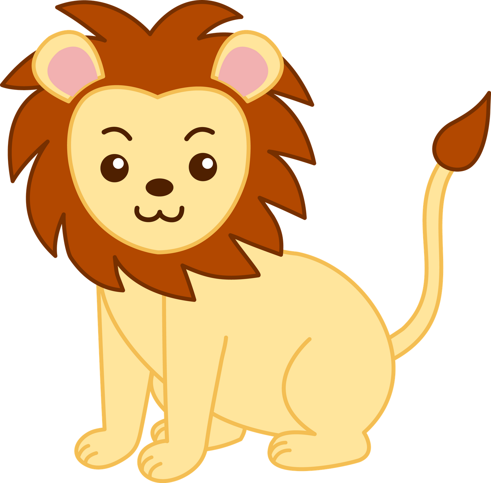 fierce lion clipart clipart panda free clipart images rh clipartpanda com  cute lion cub clipart