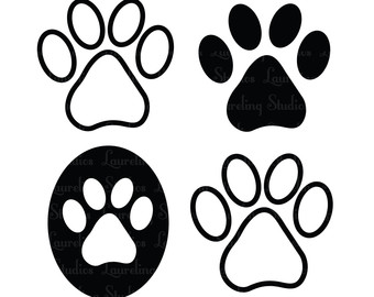 dog paw print clip art free download clipart panda free clipart rh clipartpanda com Bulldog Paw Print Animal Paw Clip Art Free