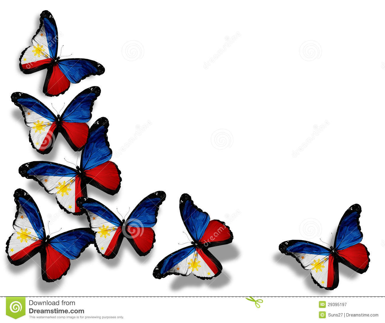 Butterfly Design Paper Free