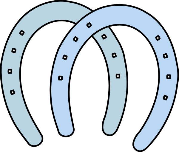 Double horseshoe template - photo#13