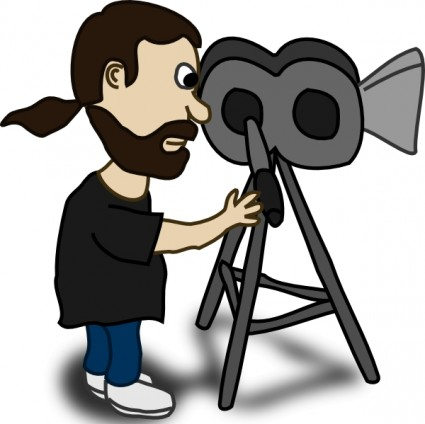 Camera Man Clip Art