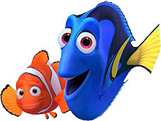 Finding Nemo Clipart | Clipart Panda - Free Clipart Images