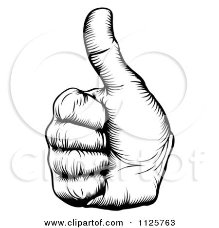 finger%20clipart%20black%20and%20white
