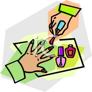 manicure clipart clipart panda free clipart images