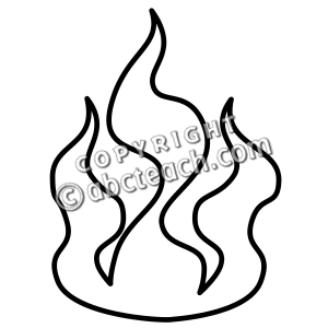 Fire Clipart Border Black And White | Clipart Panda - Free ...