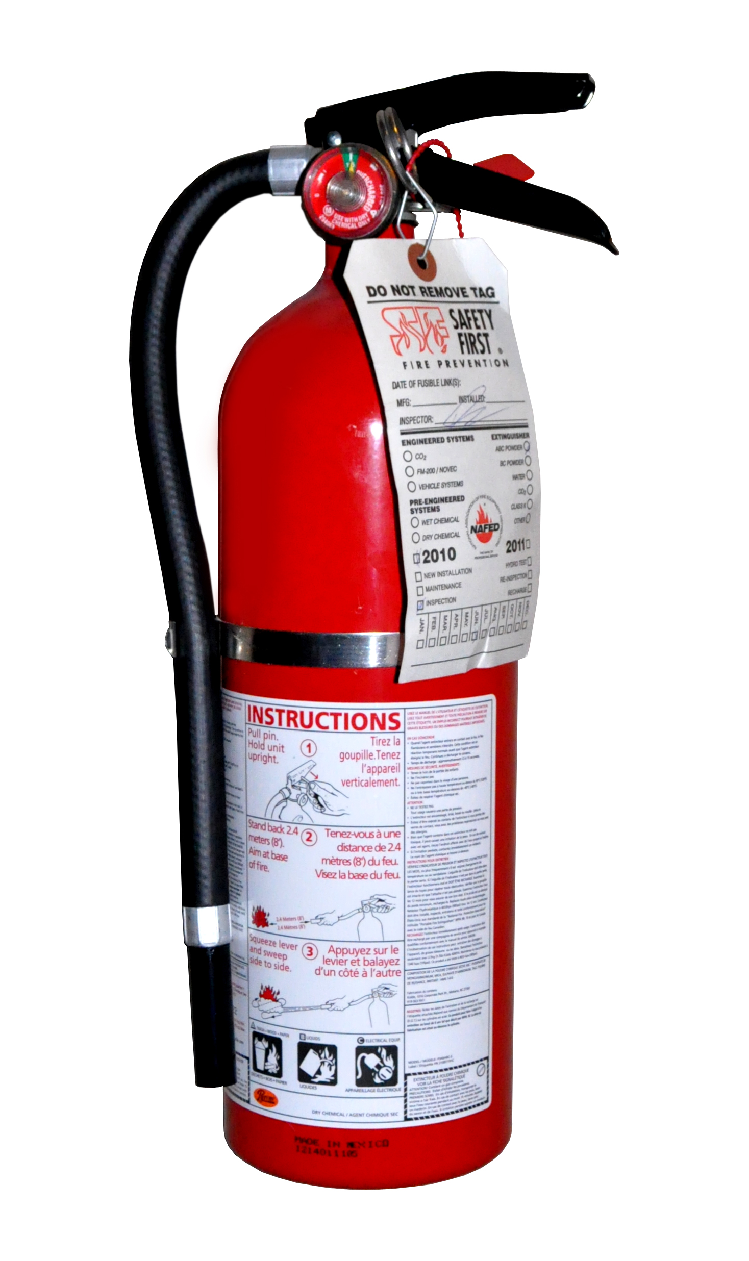 Christmas Tree Fire Extinguisher