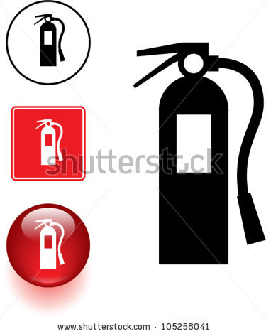 Fire Extinguisher Symbol Sign Clipart Panda Free Clipart Images