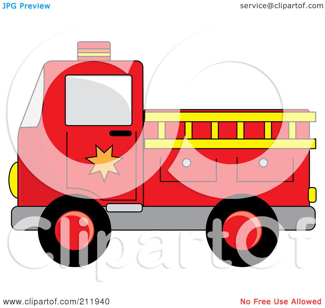Firetruck Clip Art Vector Firetruck  1 Graphics  Clipartme