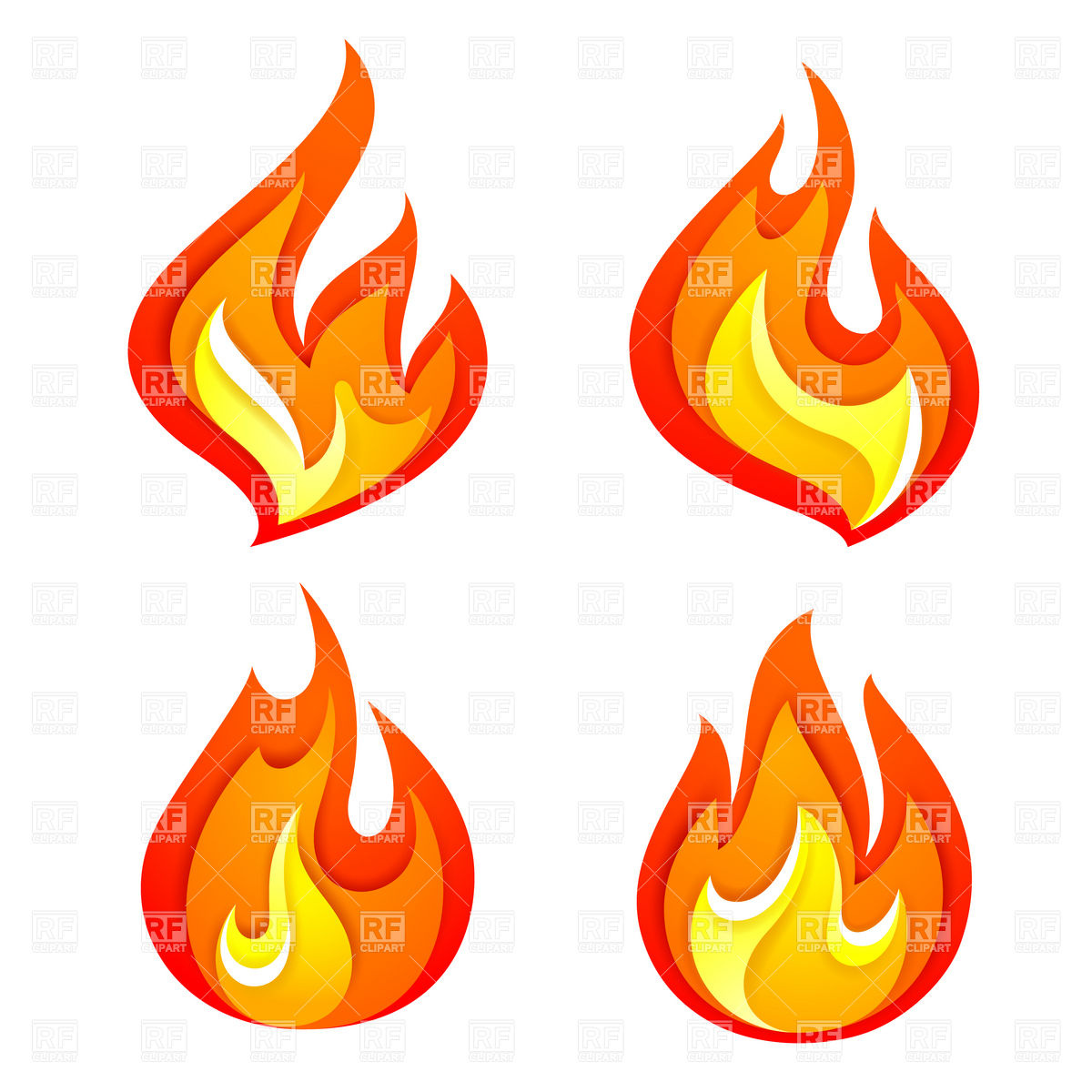 fire flame cartoon clipart panda free clipart images