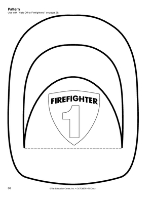 firefighter hat template preschool firefighter hat template clipart panda free clipart images