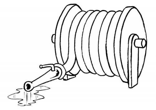 clipart fire hose reel - photo #25