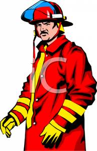 Fireman Clip Art Free Black White | Clipart Panda - Free Clipart ...