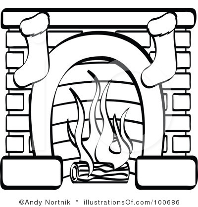 Cartoon Christmas Fireplace | Clipart Panda - Free Clipart Images