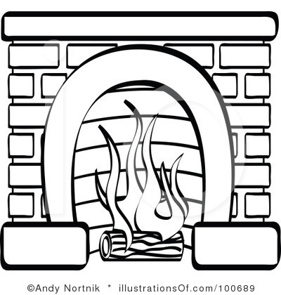 Fabulous Fireplace Clipart Black And White Clipart Panda Free Home Interior And Landscaping Palasignezvosmurscom
