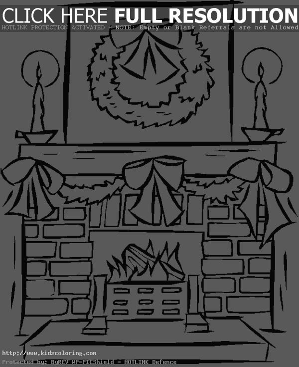 Sensational Fireplace Christmas Coloring Clipart Panda Free Clipart Download Free Architecture Designs Rallybritishbridgeorg