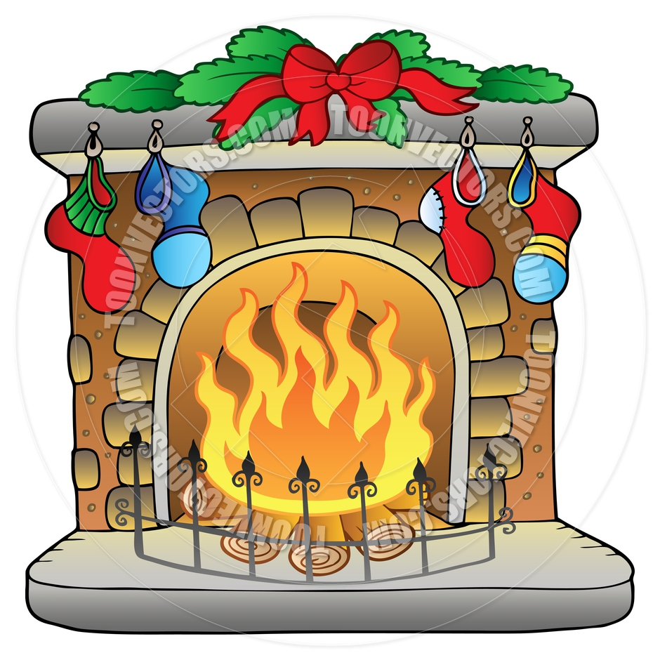 clipart fireplace - photo #20