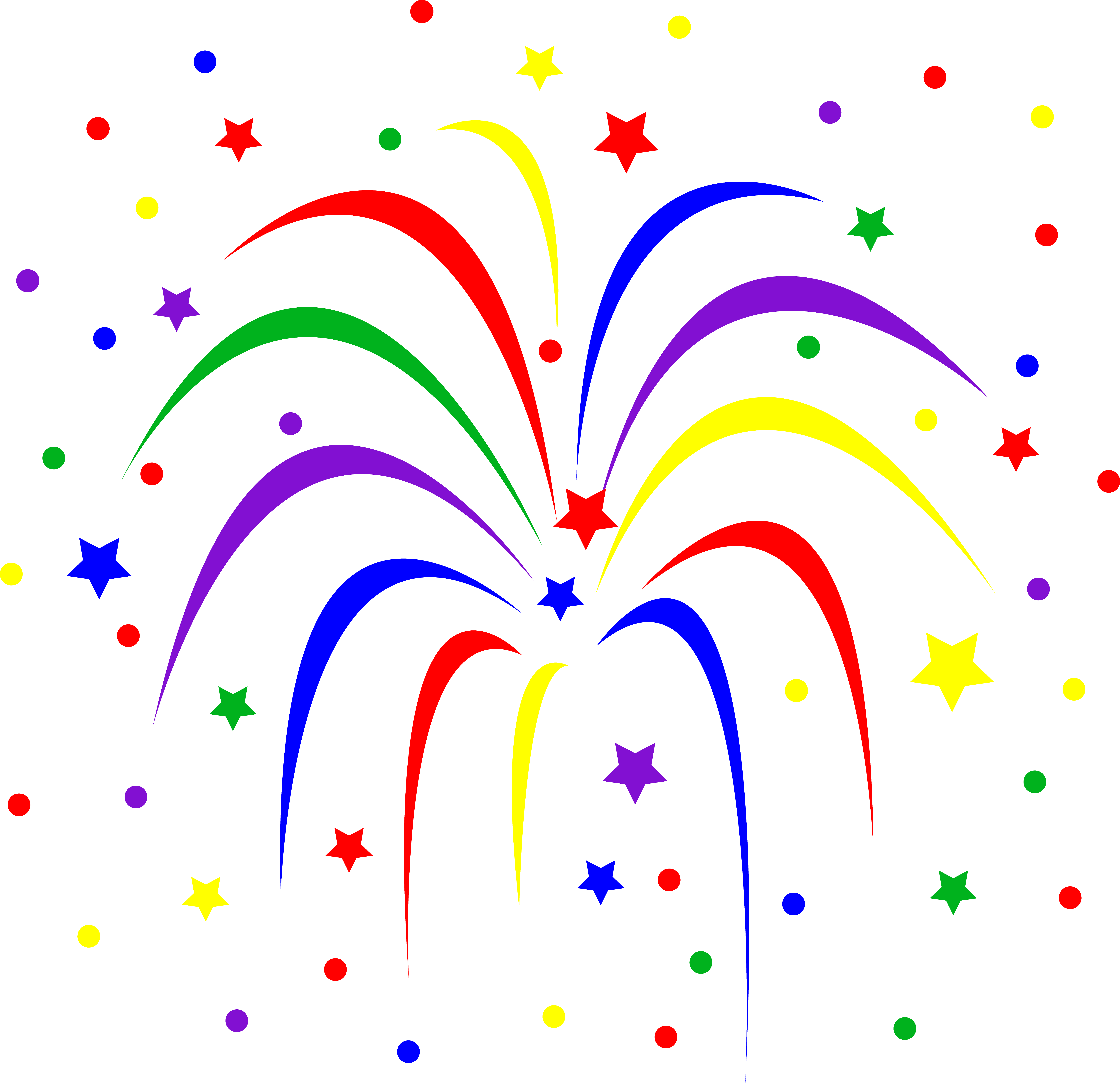 4th of july fireworks border clipart panda free clipart images rh clipartpanda com happy fourth of july fireworks clipart