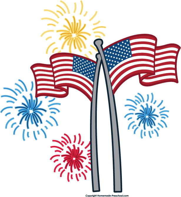 4th of july fireworks border clipart panda free clipart images rh clipartpanda com free clipart happy fourth of july 4th of july free clip art images