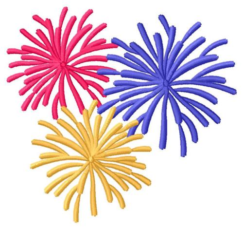 Clip Art Fireworks Animated