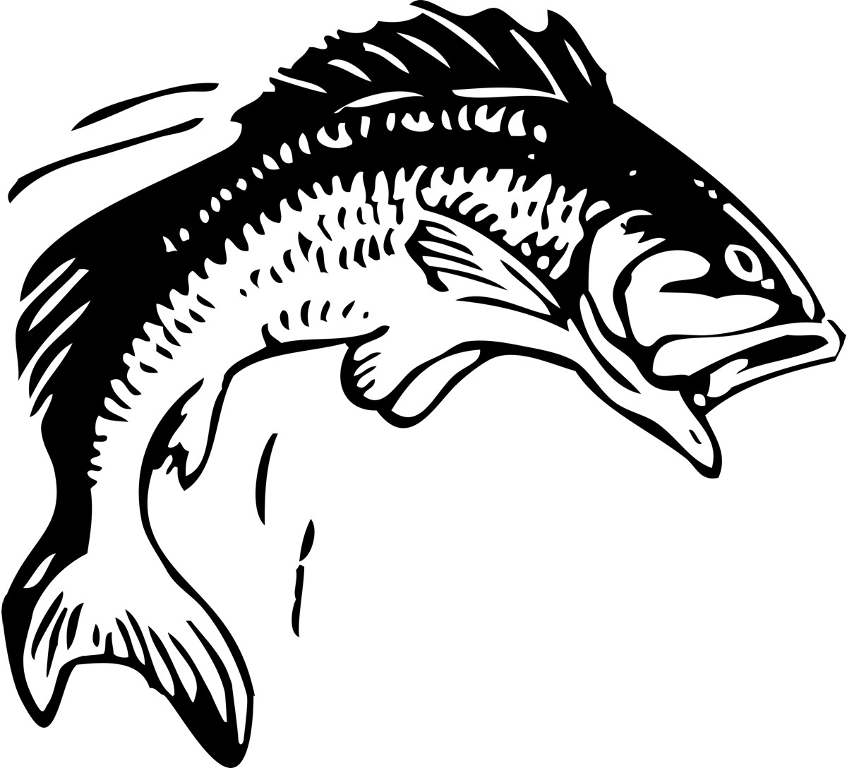Fish Clip Art Border | Clipart Panda - Free Clipart Images