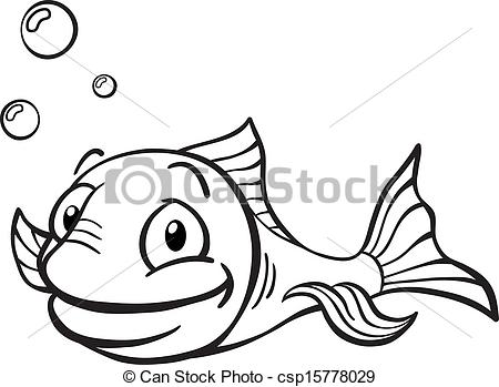 fish%20clipart%20black%20and%20white