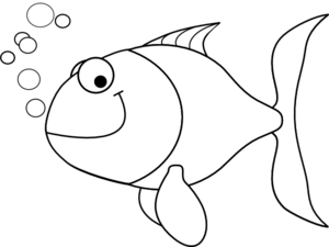 fish%20outline%20clipart%20black%20and%20white
