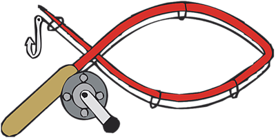 Bent Fishing Pole Clipart Clipart Panda Free Clipart