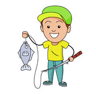 Fishing Clip Art Carto...