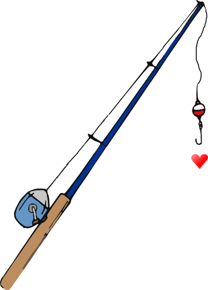 Fishing Hook Heart Clipart | Clipart Panda - Free Clipart Images