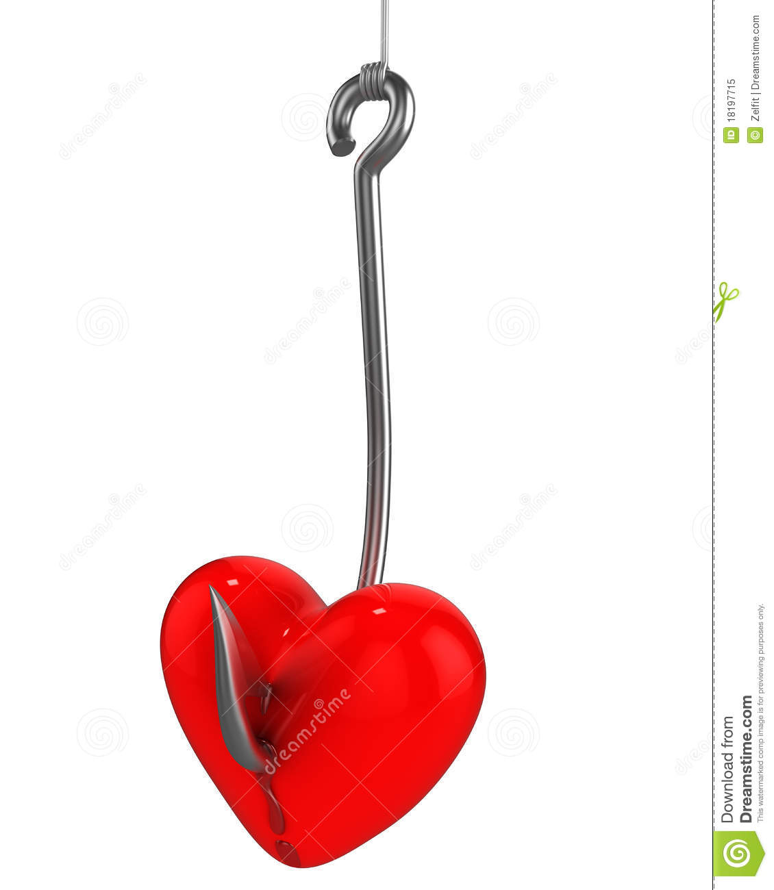 Fishing hook heart clipart clipart panda free clipart for Pictures of fishing hooks