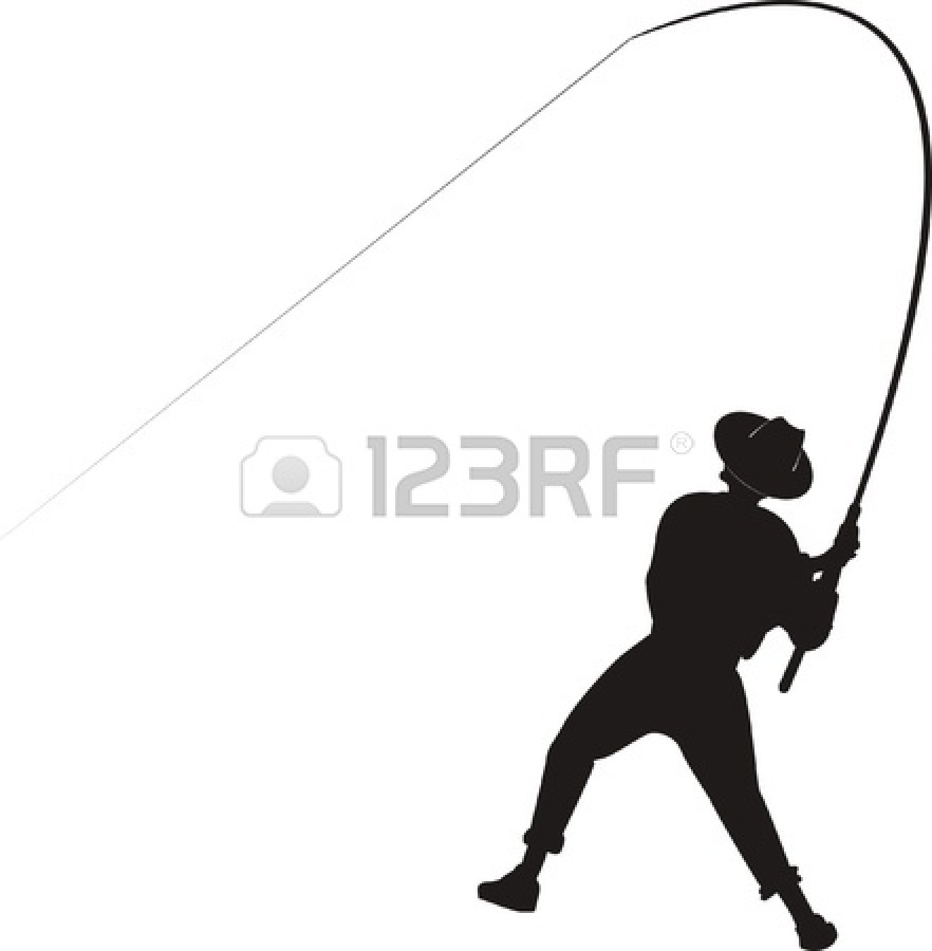 Fishing Pole Vector | Clipart Panda - Free Clipart Images