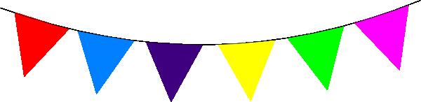 Flag banner. Triangle clipart panda free