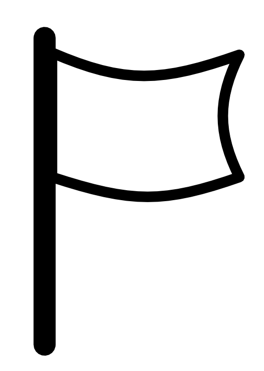 white flag icon drapeau clipart panda free clipart images rh clipartpanda com black and white checkered flag clip art white surrender flag clip art