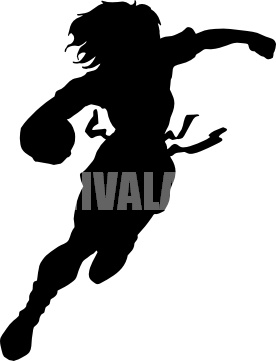 flag football silhouette clipart panda free clipart images Teenage Girl Clip Art Free Baby Girl Clip Art Free
