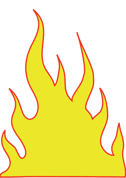 clipart flames of fire - photo #35